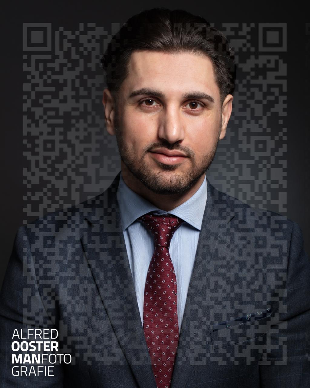 Een foto uit de serie 'Identiteit' voor de Sponsoraward 2021 van de MPN (Master Photographers Network).